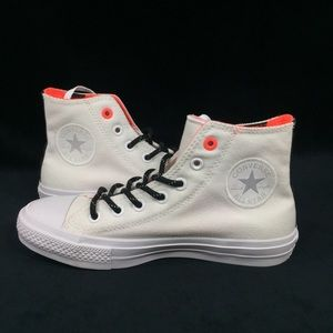 NEW Converse CTAS II Shoes Sneakers White Lava 7.5